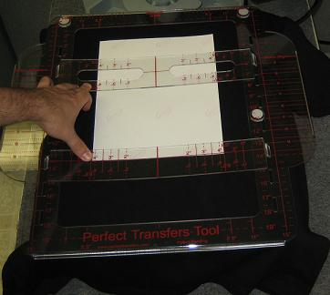 Full Front Back Design Alignment for Heat Press