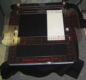 Left Right Vertical Side Design Alignment for Heat Press